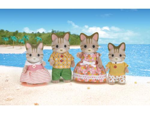 Sylvanian Families csíkos cica család (SLV5180)