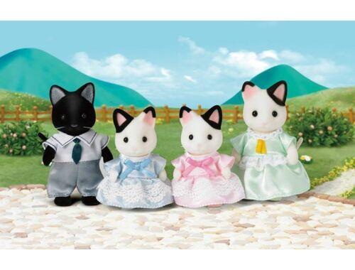 Sylvanian Families foltos cica család 4 fővel (SLV5181)