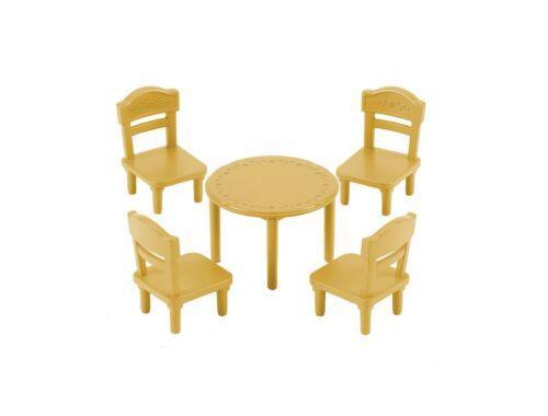 Sylvanian Families kerek étkezőasztal székekkel (SLV5144)