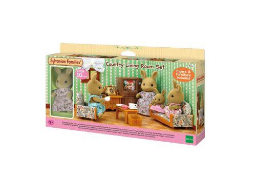 Sylvanian Families vidéki nappali bútor szett nyuszi figurával (SLV5163)