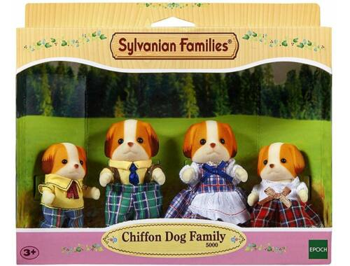 Sylvanian Families chiffon kutyus család 4 fővel (SLV5000)