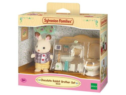 Sylvanian Families csoki nyuszi bátyó fürdőszoba bútorral (SLV5015)