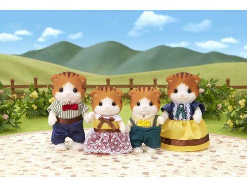 Sylvanian Families juhar cica család 4 fővel (SLV5290)