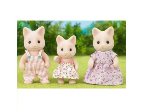 Sylvanian Families cica család 3 fővel (SLV5126)