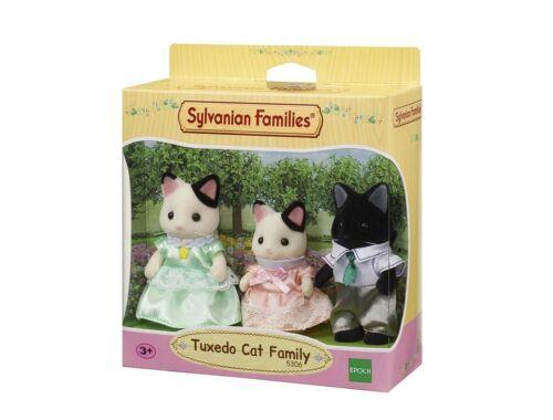 Sylvanian Families foltos cica család 3 fővel (SLV5306)