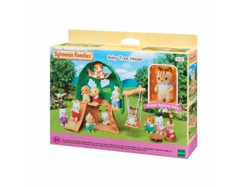 Sylvanian Families bébi játszó faház mókus bébivel (SLV5318)