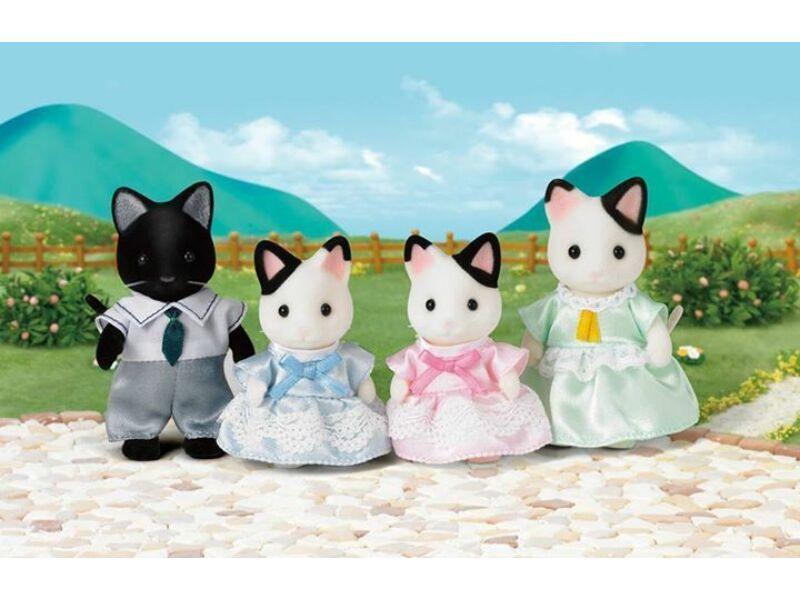 Sylvanian Foltos cica család