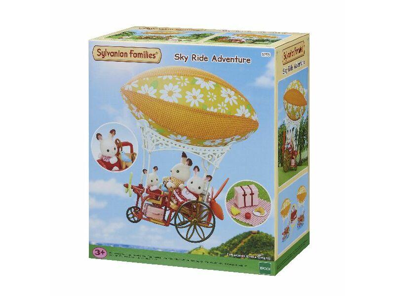 Sylvanian Biciklis hőlégballon