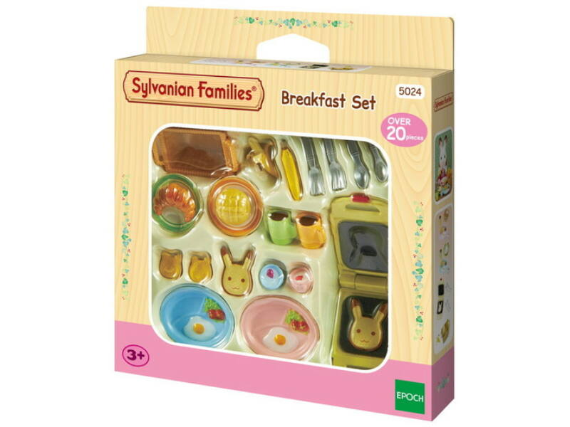 Sylvanian Families reggeliző szett