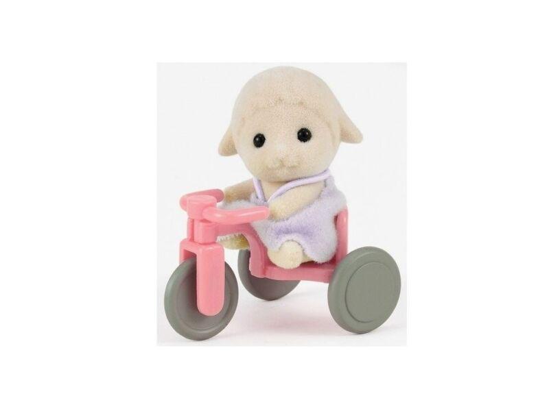 Sylvanian Bárány bébi triciklivel