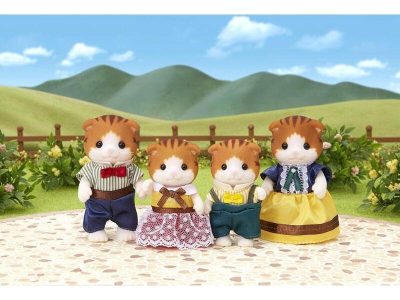 Sylvanian Juhar cica család