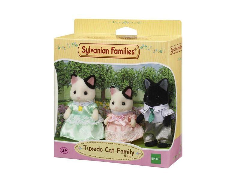 Sylvanian Families Foltos cica család, 3 db-os