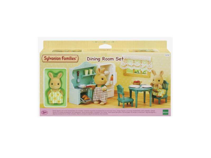 Sylvanian Families étkező bútor szett nyuszi figurával (SLV5378)