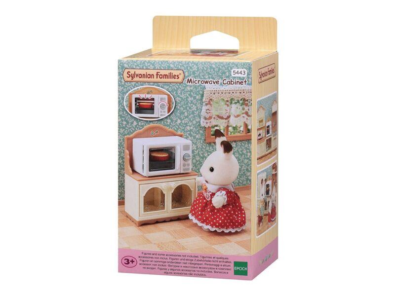 Sylvanian Families mikrohullámú sütő kisszekrénnyel (SLV5443)