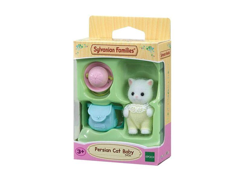 Sylvanian Families perzsa cica bébi hátizsákkal (SLV5456)
